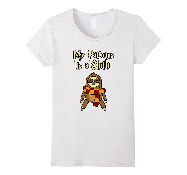 Womens Patronus Sloth Shirts Funny-Newstyleth
