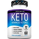 Keto Pills - Ketogenic Diet Supplement with Beta Hydroxybutyrate Ketone Salts - Boost Energy and Metabolism - Keto Ultimate Diet 60Caps