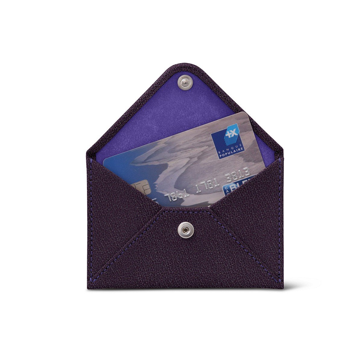 Lucrin - Kreditkartentasche - Ziegenleder