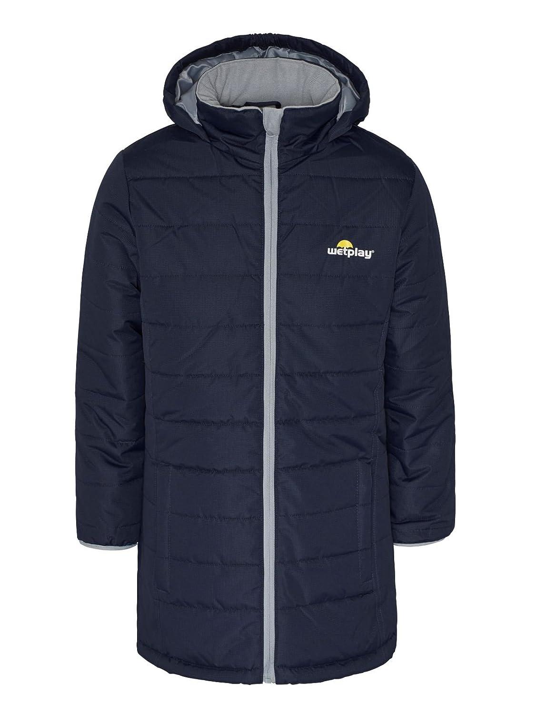 517b3d6ae Wetplay Girls Padded Waterproof Jacket Coat Puffa Insulated Childs ...