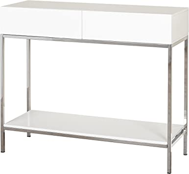 Amazon Com Target Marketing Systems Console Table White Kitchen