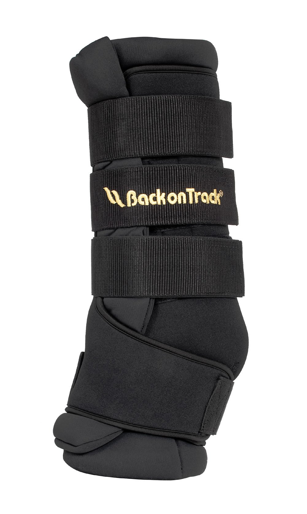 Back on Track Therapeutic 2-Piece Welltex Horse Quick Wrap, 16-Inch, Large by Backbone