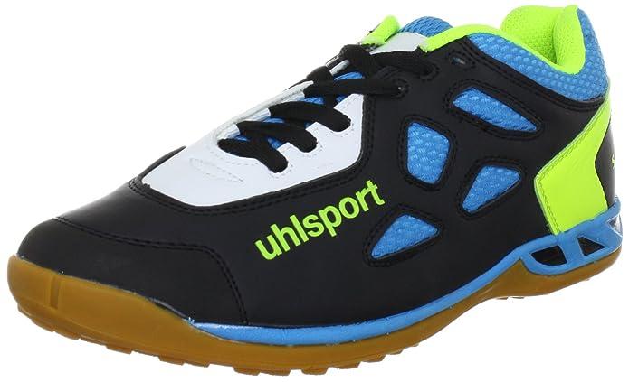 JAGUAR Senior 100831001, Scarpe sportive outdoor unisex adulto, Nero (Schwarz (schwarz/cyan/limone 01)), 40.5 Uhlsport