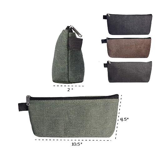 6d176b242794 Gaddrt Portable Zipper Tool Bag Pouch Canvas Organizer Storage Small ...
