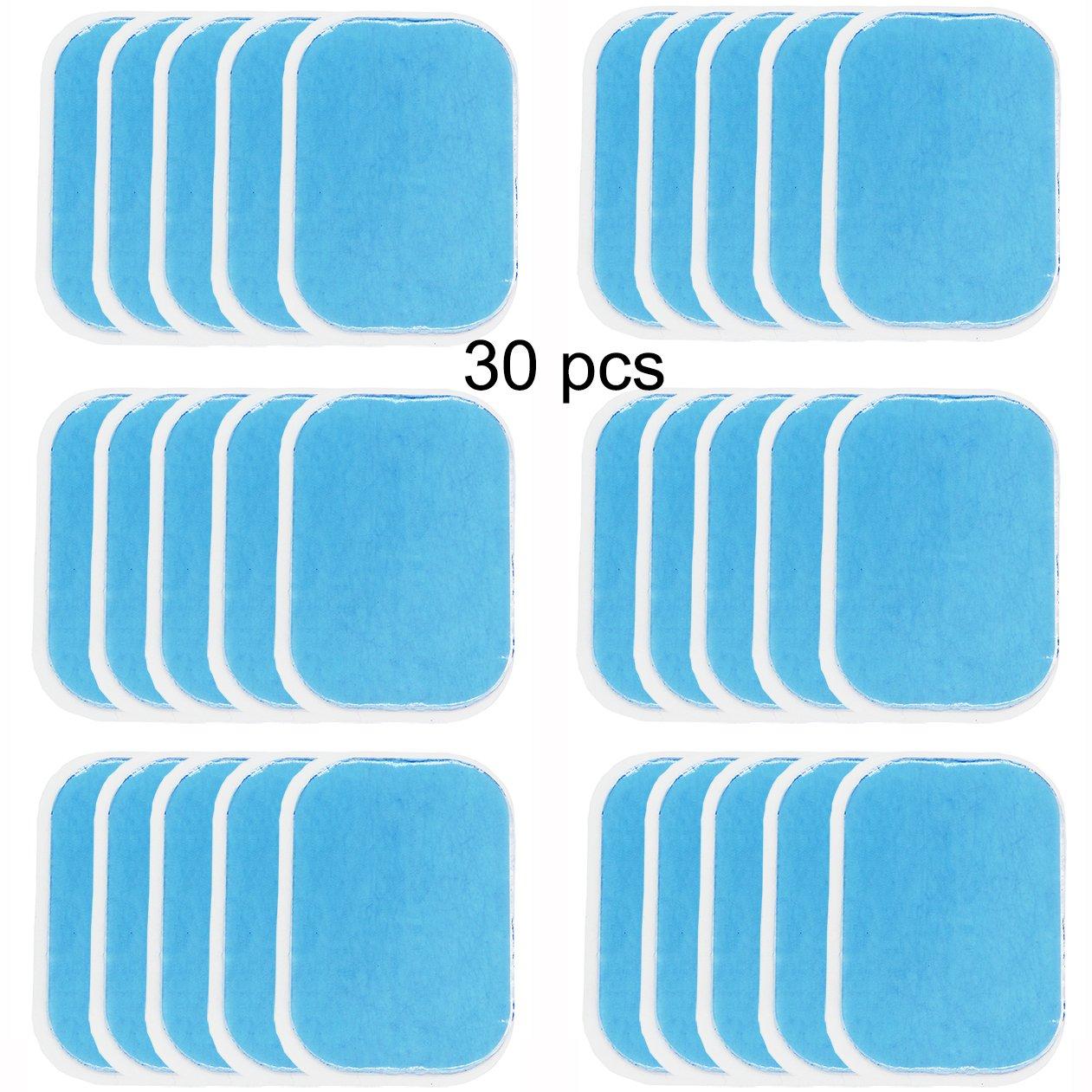 2 unidades//paquetes, 15 paquetes//caja accesorios para abdominales t/óner muscular NewL Abs Trainer L/ámina de gel de recambio para tonificar el cintur/ón abdominal