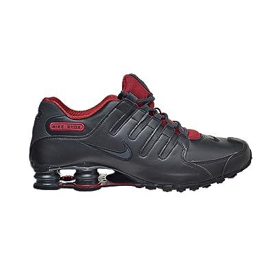 Nike Shox NZ SE Men's Shoes Black/Metallic Hematite/Red/Anthracite 833579-