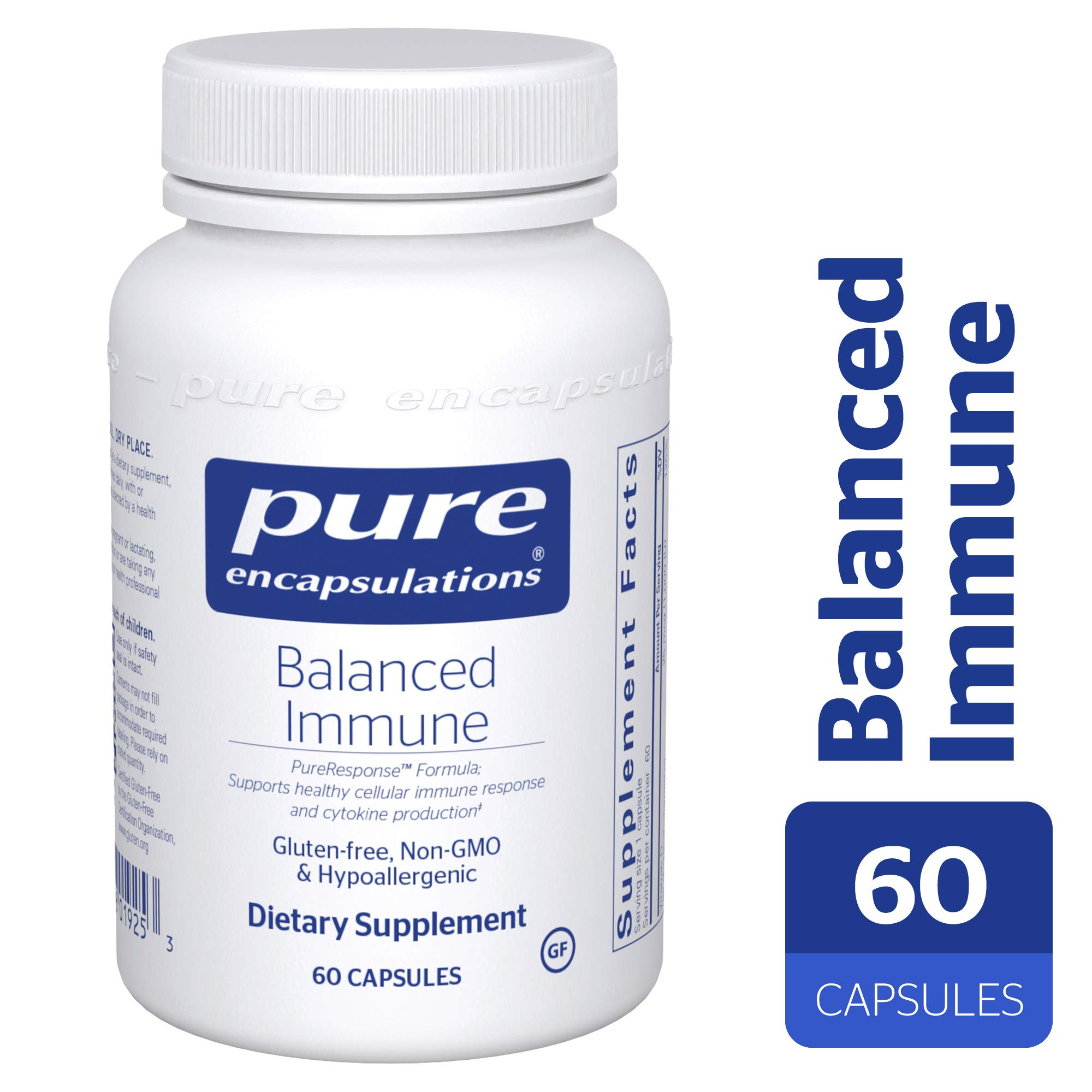 Pure Encapsulations - Balanced Immune - Joint, Gastrointestinal and Thyroid Function Support* - 60 Capsules by Pure Encapsulations
