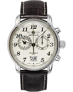 Zeppelin Mens Watch Serie 100 Jahre Zeppelin Chronograph 8680-3 ... 77c74332fa