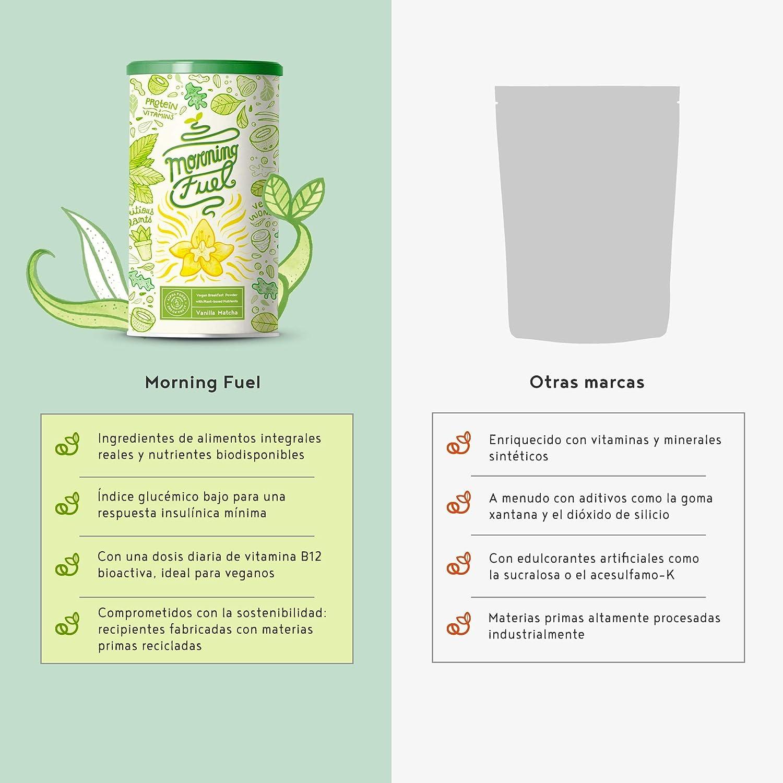 Proteina Vegana | Morning Fuel | Proteina Vegetal Mezcla para ...
