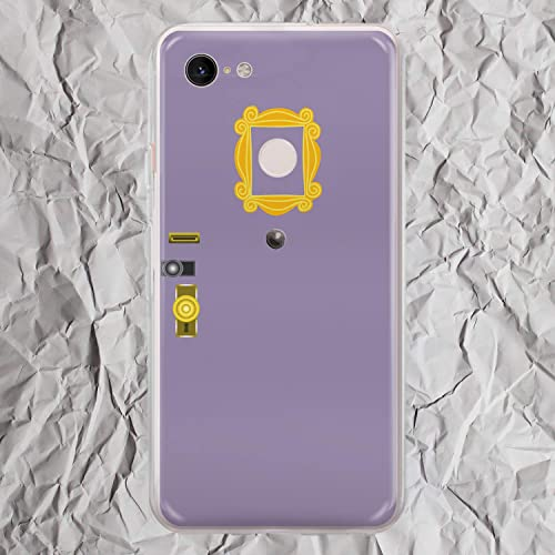Amazon Com Monica Door Frame Yellow Peephole Purple Decor Inspired