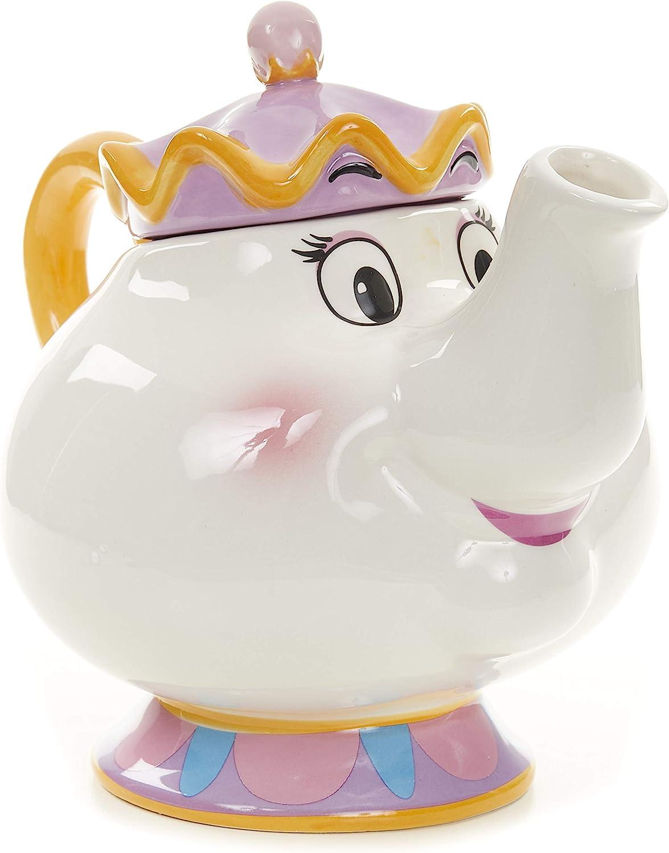 Toybox PP4342DP Tetera Disney la Bella y la Bestia Mrs Potts, Cerámica, 24 X 17 X 20 cm