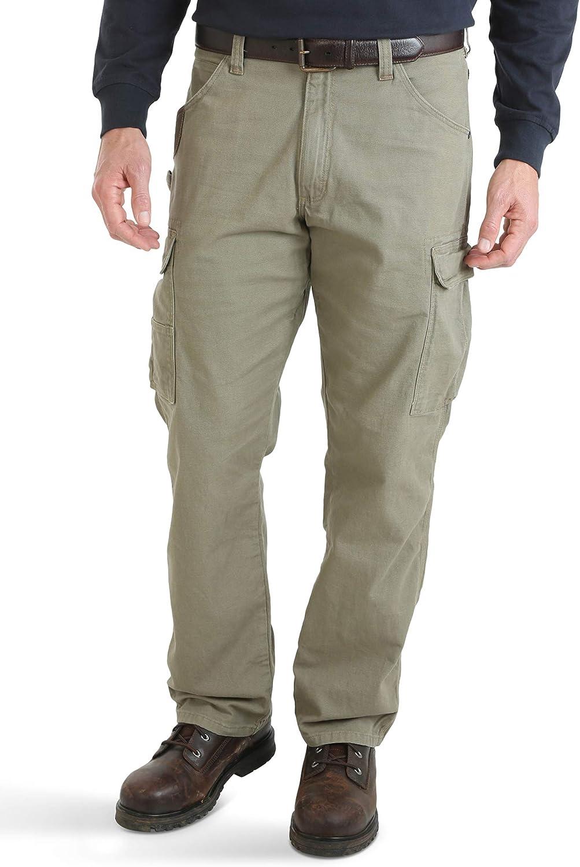 Riggs Workwear by Wrangler Mens Ranger Pant,Dark Brown,38x34