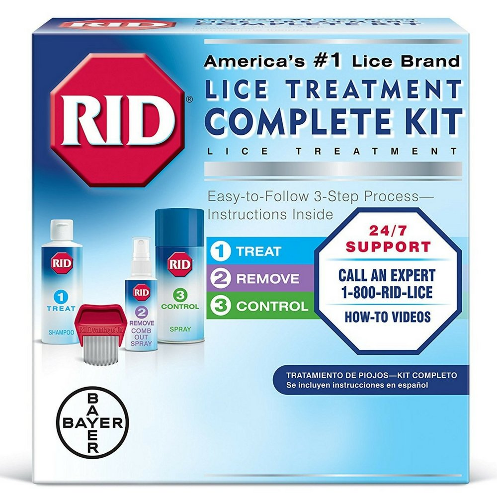 RID Complete Lice Elimination Kit 1 ea (Pack of 3) by Rid