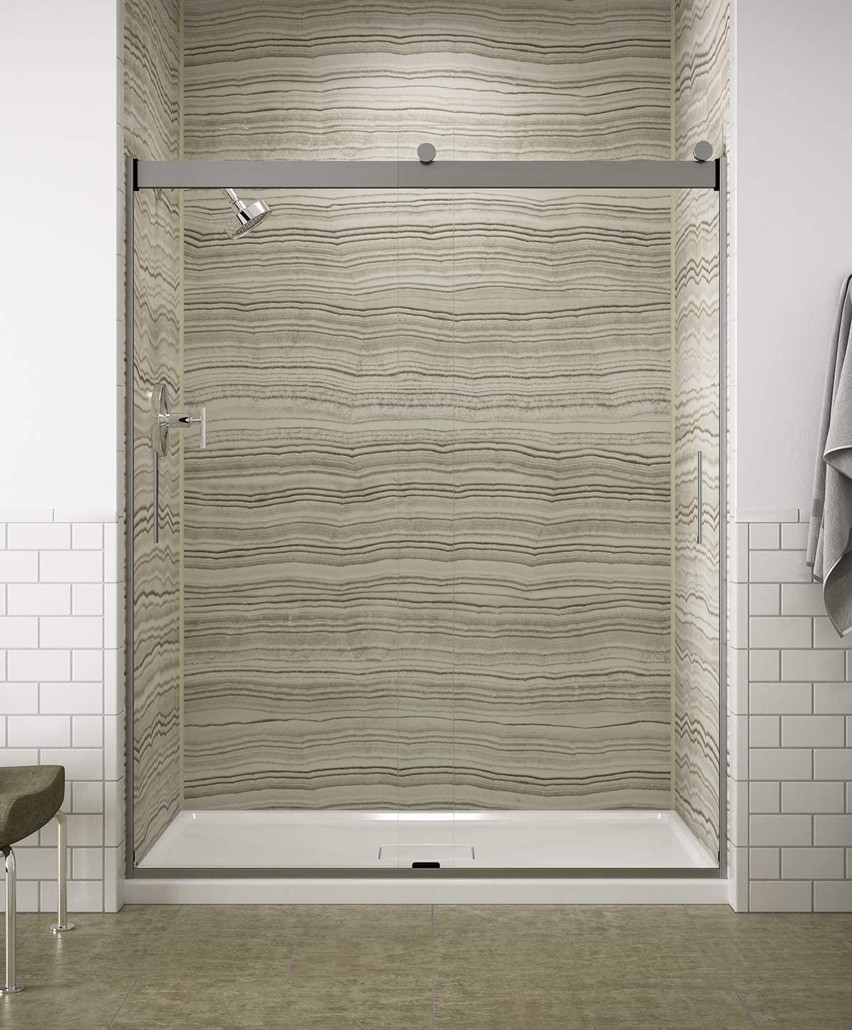 kohler levity shower door review