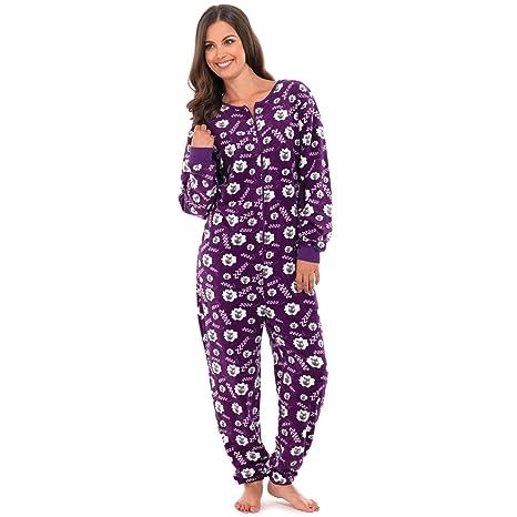 Mujer oveja imprimir Onesie Todas En Uno Pelele pijama Pjs de dormir, varios colores (