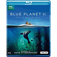 Blue Planet II (BBC Documentary) (Uncut) [Blu-ray] (2017) | Imported from USA | Region Free | BBC | 350 min | Documentary | Narrator: David Attenborough