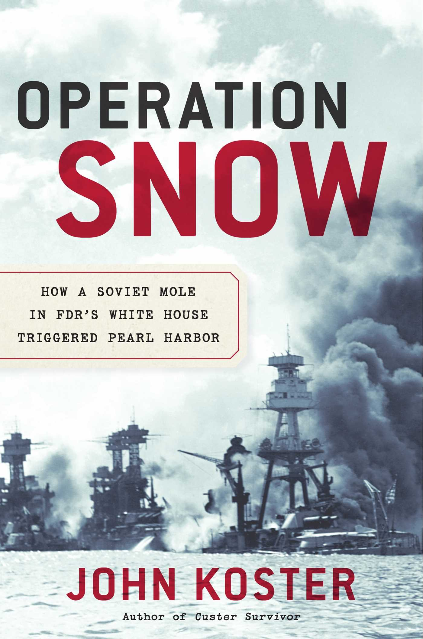 Download Operation Snow: How a Soviet Mole in FDR's White House Triggered Pearl Harbor pdf