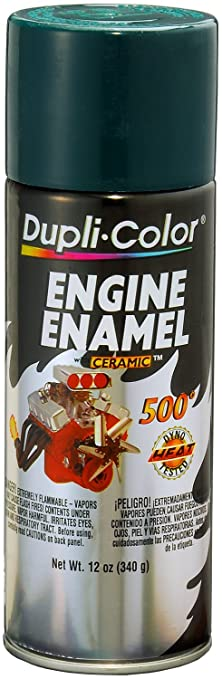 Amazon.com: Dupli-Color DE1644 Ceramic Racing hunter Green Engine ...