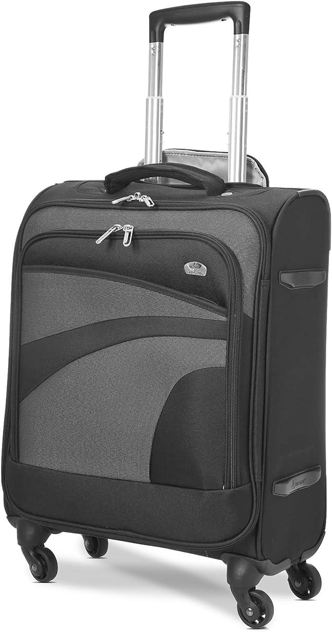 pour Ryanair Aerolite ABS Bagage Cabine Bagage /à Main Valise Rigide L/égere /à 4 roulettes Air France Set de 3 Valises Argent et Plus Easyjet