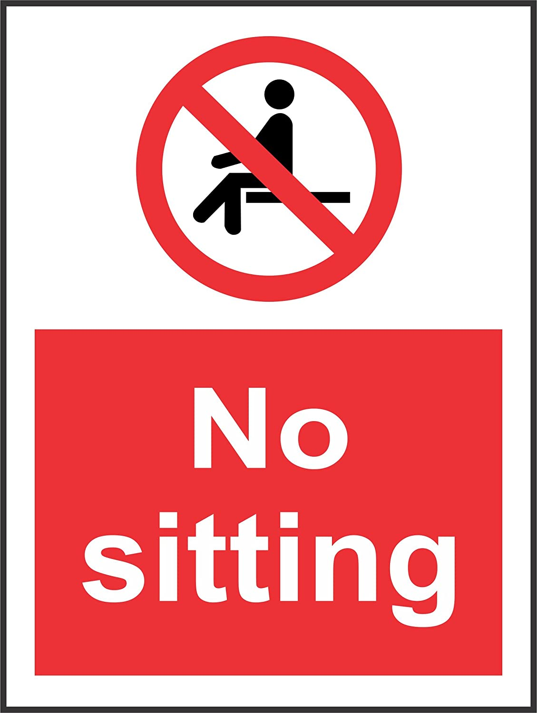 No Alcohol Sign Vinyl Sticker Alcohol Free Zone 50mm x 150mm