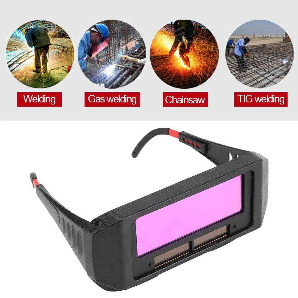 Solar Auto Darkening Welding Goggles Safety Protective Welding Glasses Welder Eyes Glasses For Protecting Your Eyes From Sparks