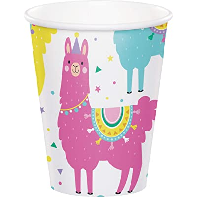 Llama Party Cups, 8 ct: Toys & Games