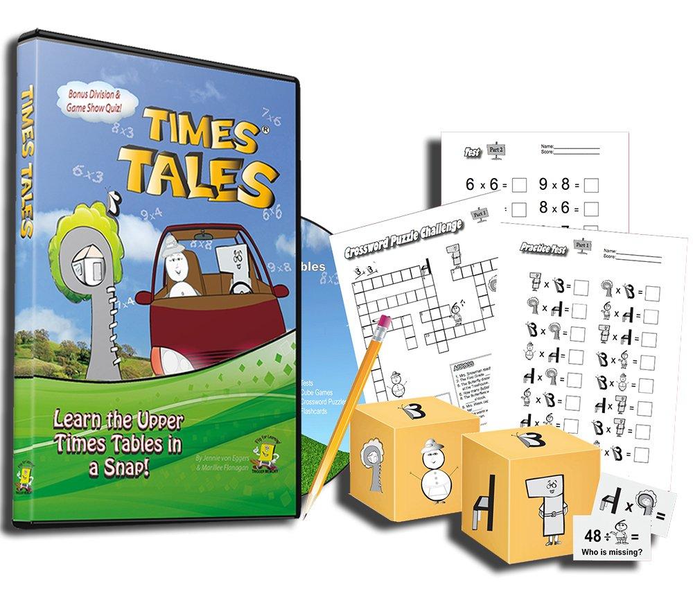 Times Tales homeschool math curriculum