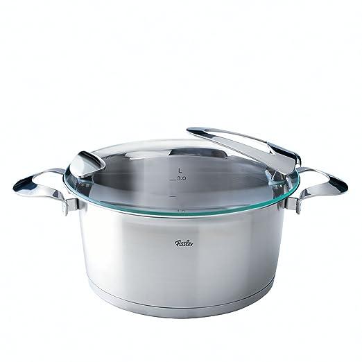 Fissler 1611005000 solea - Batería de cocina (5 piezas): Amazon.es: Hogar