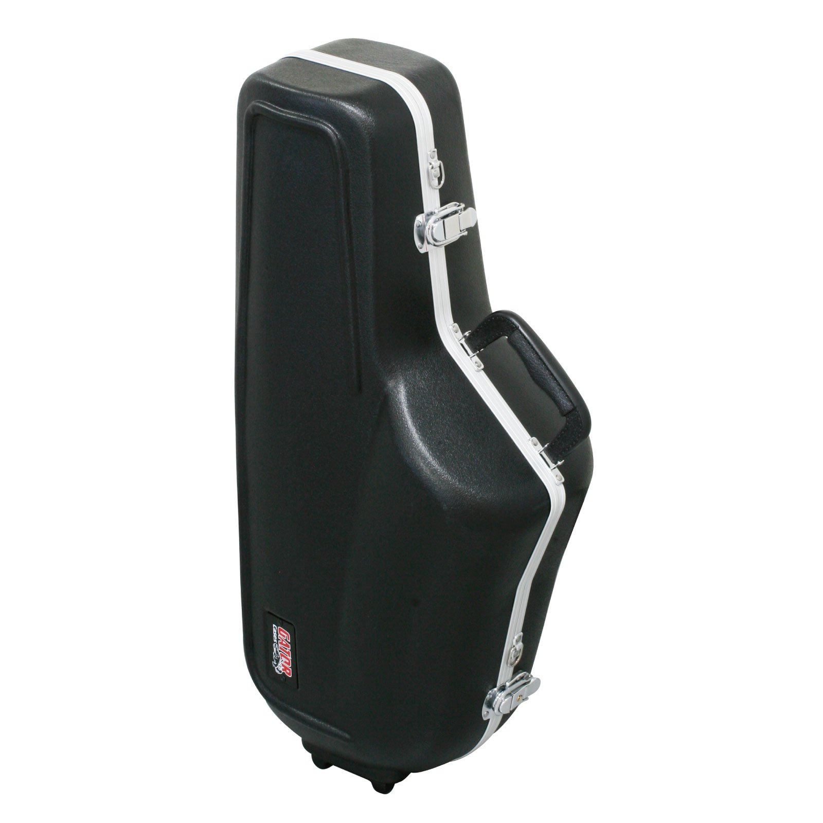 Gator Cases Lightweight Molded Alto Saxophone Case with Locking Latch and Plush Lined Interior (GC-ALTO SAX)