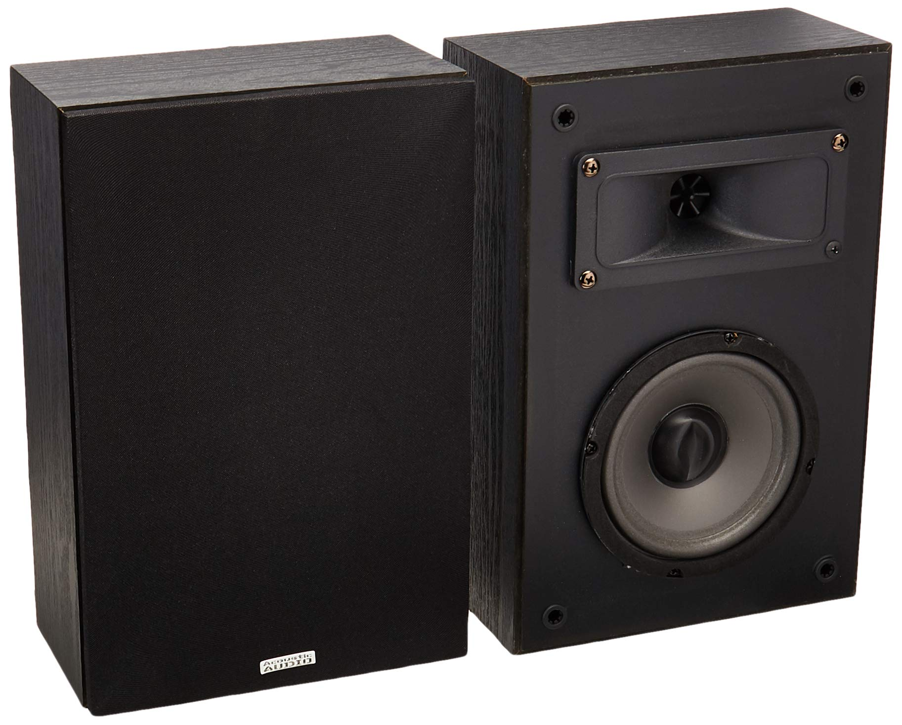Parlante : Acoustic Audio PSS-52 Bookshelf Speakers 100 Watt