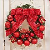 weihnachten deko weihnachtenkranz ohne beleuchtung weihnachtsgirlande t rkranz aus kunststoff. Black Bedroom Furniture Sets. Home Design Ideas