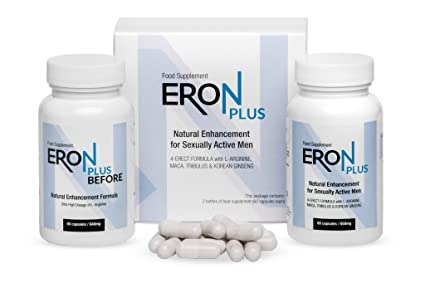 ✅ERON Plus Premium, potencia, erección, pastillas de potencia, paquete básico 2x60