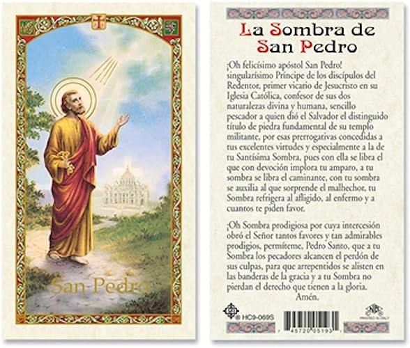 Amazon.com: SPANISH ST PETER - SOMBRA DE SAN PEDRO LAMINATED ...