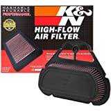 K&N YA-6001 Yamaha High Performance Replacement Air Filter