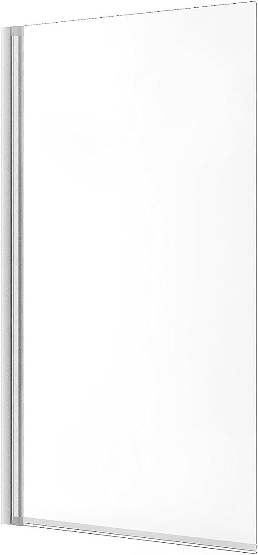 Schulte - Mampara de bañera Berlin de cristal de 1 pieza, gris, 4056397001225: Amazon.es: Bricolaje y herramientas