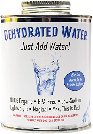 dehydrated water most useless gifts on amazon