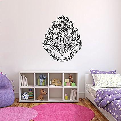 Pegatina Para Pared De Harry Potter Emblema Hogwarts Película Libro ...