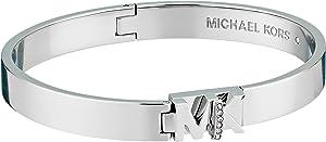 Michael Kors Women's Silver-Tone Hamilton Bracelet MKJ6837040