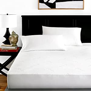 Zen Bamboo Mattress Protector - Best Lab Tested Premium Waterproof, Hypoallergenic, Cool and Breathable Rayon Derived from Bamboo Mattress Protector and Cover - Full