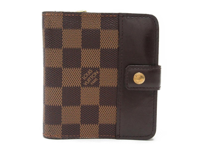 [ルイヴィトン] LOUIS VUITTON コンパクトジップ 二つ折り財布 財布 ダミエ ダミエ N61668 [中古] B01JAFJRU4
