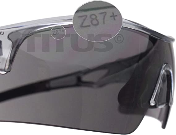 PPE USA Titus G20 All Sport Safety Glasses Shooting Eyewear Protection ANSI Z87