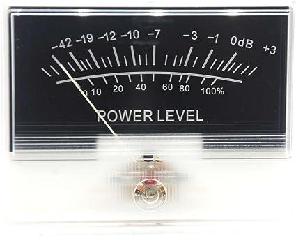 Denon TN90 VU Panel Meter DB Level Header Audio Power Amplifier Internal Light