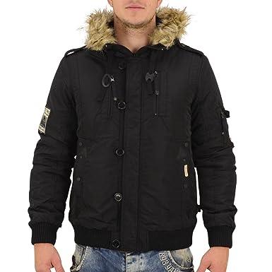 Lonsdale London Winterjacke Herren Jarreth black Fell