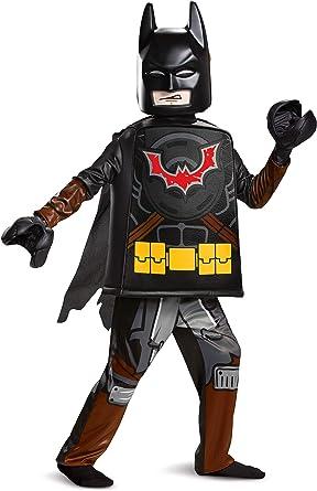 Enfants Licencié de base LEGO Batman Costume Garçons LM2 Film Fancy Dress Taille Unique