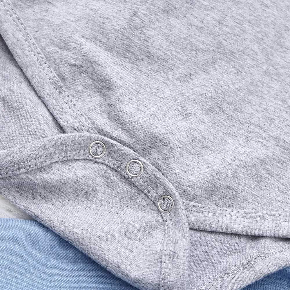 Set Completo di Vestiti per Bambini QinMM Neonato Bambino Ragazze Maniche Lunghe Top Pantaloni