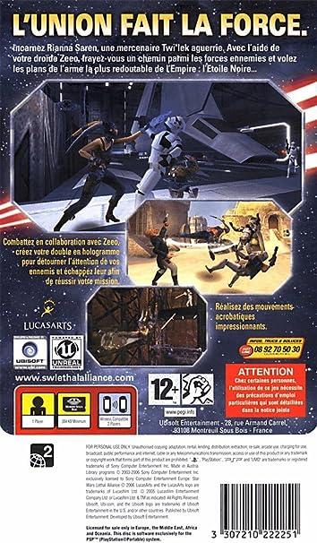 Star Wars - Lethal Alliance: Amazon.es: Videojuegos