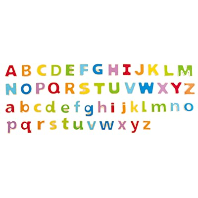 Hape ABC Magnetic Fridge Letters Toddler Learning Toy: Toys & Games