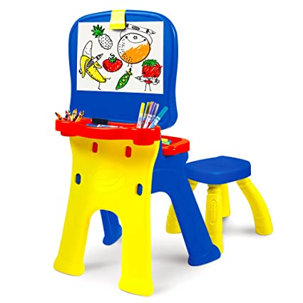 Fantastic Crayola Triple The Fun Art Studio Kids Easel Gmtry Best Dining Table And Chair Ideas Images Gmtryco