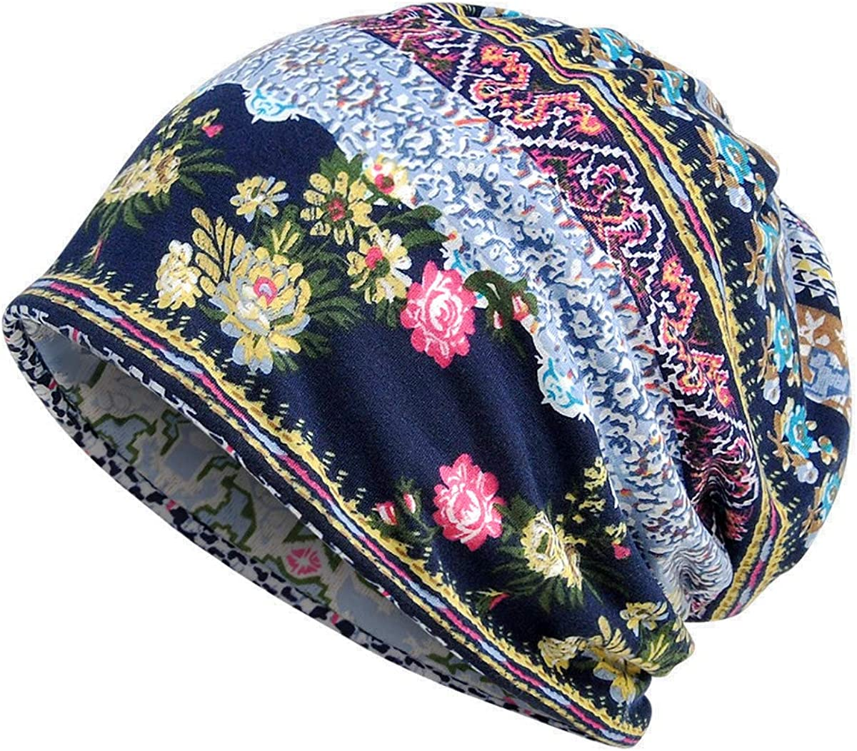 Yuzemumu Lace Beanies Chemo Caps Cancer Skull Cap Knitted hat for Womens