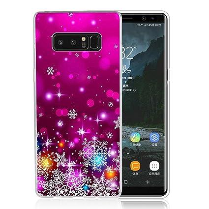 Amazon.com: Galaxy Note 8 Caso Navidad, Samsung Note 8 Caso ...